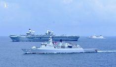 Tàu chiến, tàu ngầm hạt nhân Anh tiến vào Biển Đông