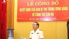 Thứ trưởng Bộ Công an Trần Quốc Tỏ đảm nhiệm thêm trọng trách mới
