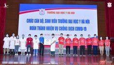 350 cán bộ, sinh viên ĐH Y Hà Nội chi viện Bình Dương chống dịch