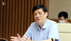 Bộ trưởng Y tế: 'Số ca nhiễm tăng, tử vong đã giảm'