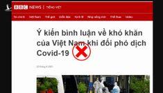 Luận điệu xảo trá của BBC về tình hình chống dịch của TP.HCM