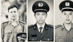 Tiếc thương những chiến sĩ công an hy sinh trong 'cuộc chiến' chống COVID-19
