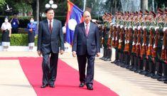 Việt Nam tặng Lào công trình trị giá 5 triệu USD