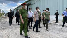 Bộ Công an khởi công bệnh viện dã chiến ở TP.HCM