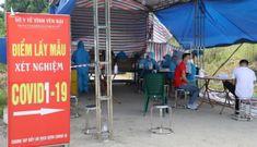 Nhiều người đi xe máy từ miền Nam về Lào Cai, Yên Bái dương tính SARS-CoV-2