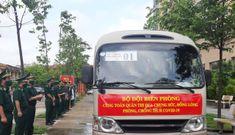 Quân y biên phòng xuất quân đợt 2 tham gia chống dịch tại các tỉnh, thành phía Nam