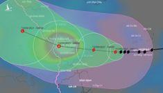 Tin bão sáng 11/9: Bão Conson đang ở giai đoạn mạnh nhất