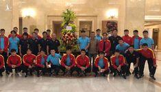 Chủ tịch nước Nguyễn Xuân Phúc gửi lời động viên tới thầy trò HLV Park Hang-seo