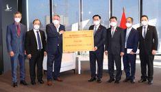 Các doanh nghiệp của Cộng hoà Áo tặng thiết bị y tế cho Việt Nam
