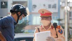Sau 6h ngày 21/9, người Hà Nội không cần giấy đi đường khi tham gia lưu thông