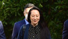 Con gái nhà sáng lập Huawei bay về Trung Quốc ngay lập tức khi được phóng thích