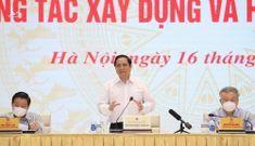 Thủ tướng Phạm Minh Chính: Chống tham nhũng, tiêu cực, lợi ích nhóm trong xây dựng thể chế