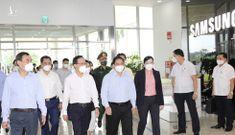 Thủ tướng thăm Nhà máy Samsung Electronics Việt Nam Thái Nguyên
