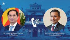 Việt Nam đề nghị Singapore hỗ trợ hoặc chuyển nhượng lại vaccine dôi dư