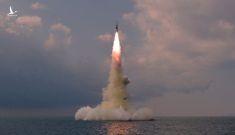 Tàu ngầm của Triều Tiên phóng tên lửa đạn đạo loại mới khó đánh chặn hơn