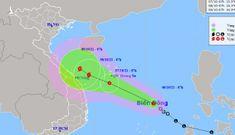 Áp thấp nhiệt đới khả năng mạnh lên thành bão, miền Trung mưa rất to, nguy cơ sạt lở