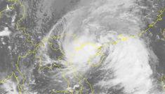 Biển Đông xuất hiện cơn bão số 8: nguy cơ bão chồng bão