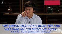 Lạm bàn về thói cuồng ngôn của Thời báo Hoàn Cầu khi dám lớn giọng dạy đời Việt Nam