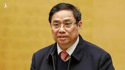 Ông Phạm Minh Chính: Không để loạt người chạy chức, chạy quyền tham gia Quốc hội