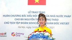 """Người phụ nữ Việt vinh dự nhận Huân chương """"Bắc đẩu bội tinh"""" là ai?"""