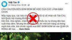 Đom đóm và âm mưu thâm độc tấn công Tân Chủ tịch Quốc hội Vương Đình Huệ