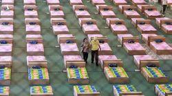 Quá tải trên diện rộng, Thái Lan biến sân bay thành bệnh viện chữa trị Covid-19