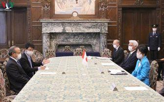Chủ tịch Thượng viện Nhật Bản cảm ơn Việt Nam hỗ trợ chống COVID-19