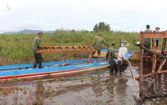 Bộ đội biên phòng An Giang: 'Tấm khiên thép' ngăn dịch COVID-19 nơi biên giới
