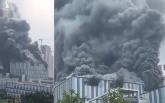 Cơ sở nghiên cứu 5G của Huawei của Trung Quốc bốc cháy ngùn ngụt