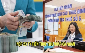 Ba cá nhân kinh doanh online ở Hà Nội nộp thuế 23 tỷ đồng