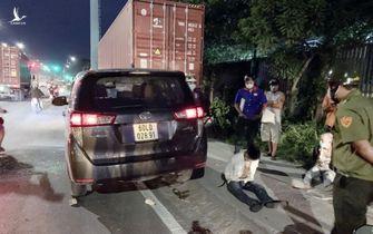 Nóng: Khởi tố tài xế xe 7 chỗ tông văng hai chiến sỹ CSGT ở Bình Dương