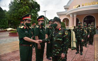 Cần thơ tổ chức lễ xuất quân hỗ trợ Kiên Giang phòng, chống dịch COVID-19