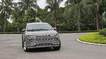 Xuất hiện xe SUV mới của VinFast chạy thử nghiệm