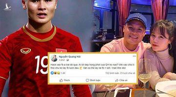 Người tấn công tài khoản facebook Quang Hải sẽ bị xử phạt thế nào?