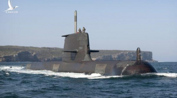 """""""Cú tát"""" cảnh cáo Trung Quốc của Úc bằng ván bài tàu ngầm hạt nhân"""