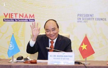 Phiên họp Hội đồng Bảo an do Chủ tịch Nước Nguyễn Xuân Phúc chủ trì tạo được tiếng vang lớn