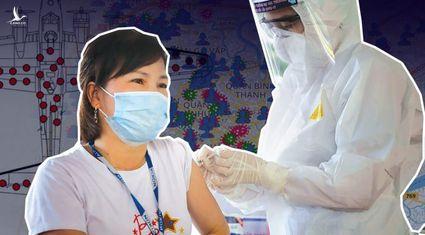 """Chống dịch ở TP.HCM: Từ bài toán lỗ đạn đến tăng cường tiêm vaccine """"vùng xanh"""""""
